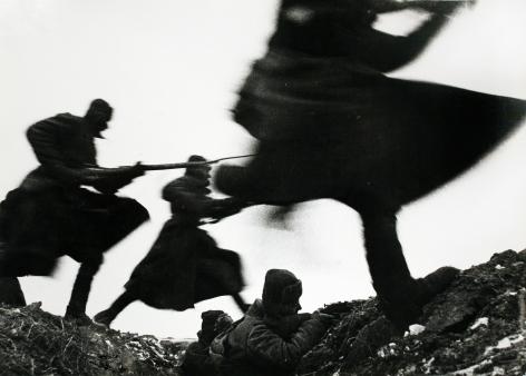 Attack, 1941 Gelatin silver print