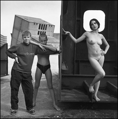 Untitled (Tolya, Ivan and Valya), 2004, Gelatin silver print