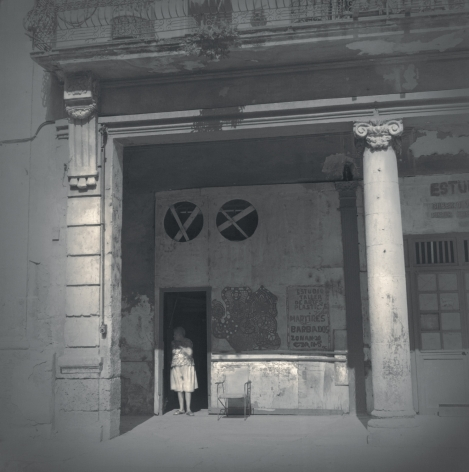 Woman in Doorway, Havana, 2003