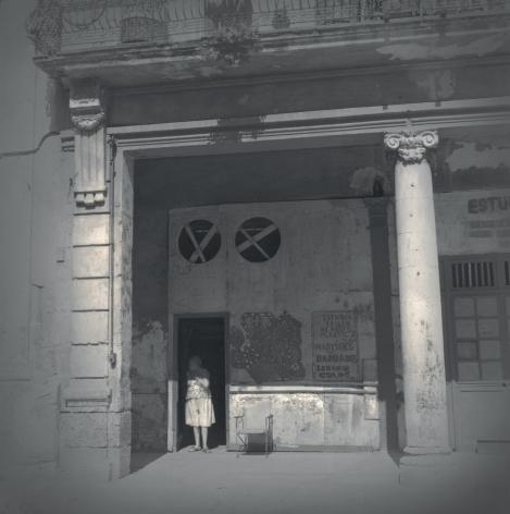 Woman in Doorway, Havana, 2003
