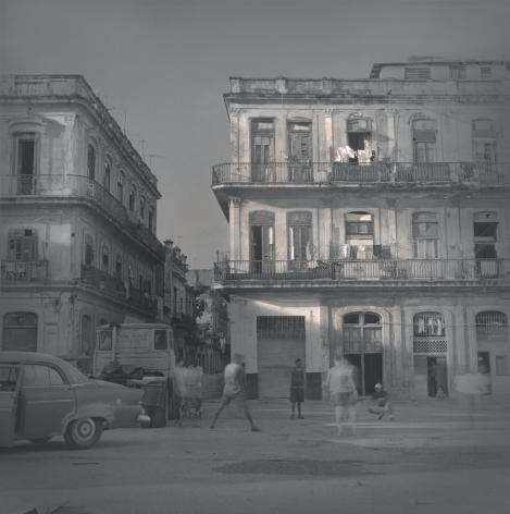 Sunset (boys playing baseball),Havana,2003