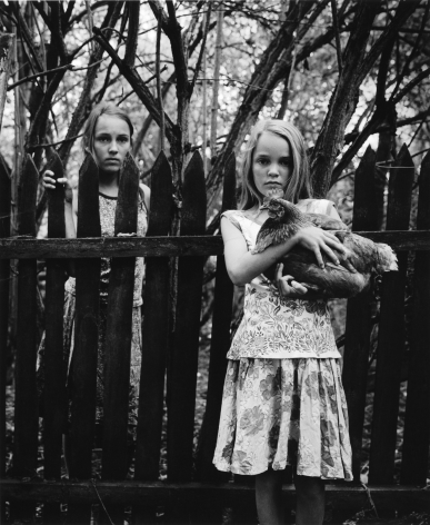 Nora and Mathilde, Ortwig, 2000