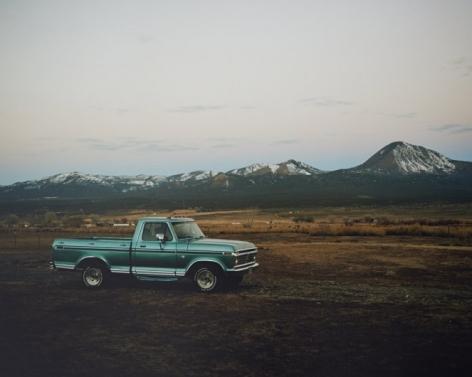 Ford Pick Up, Utah,2015, C-Type Archival Hand Print