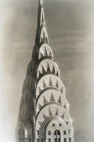 Chrysler Building, 2000, Toned gelatin silver print