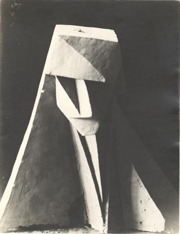 Unidentified artist, Cubist Head, c. 1919-1920