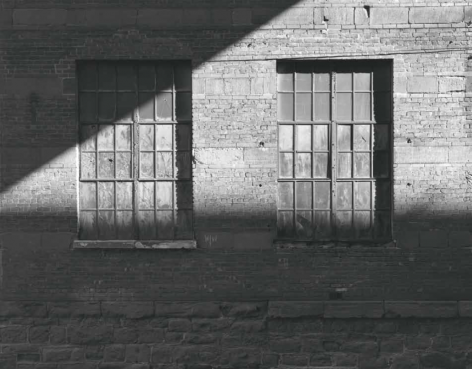 George Tice, Factory Windows, Paterson, New Jersey