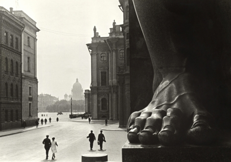 At the Hermitage, 1930
