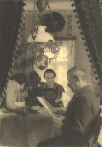 Elizaveta Ignatovich (1903-1983), Family of Kolkhoz Farmer, mid 1930s