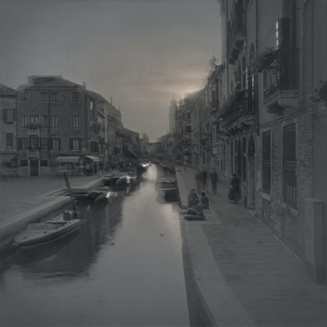 Sunset at San Barnaba, Venice, 2004