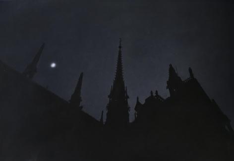 Moon, Notre Dame