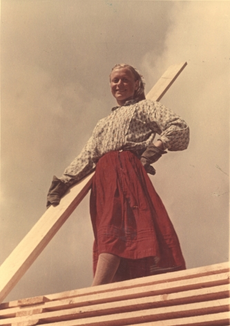 Girl from Arkhangelsk, c. 1950s, Chromogenic print