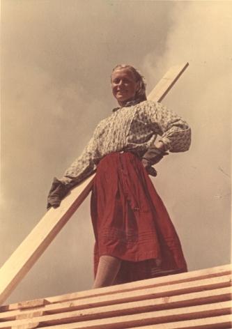 Girl from Arkhangelsk, c. 1950s, Chromogenic print