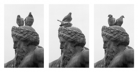 Cracow, Poland (triptych), 1974