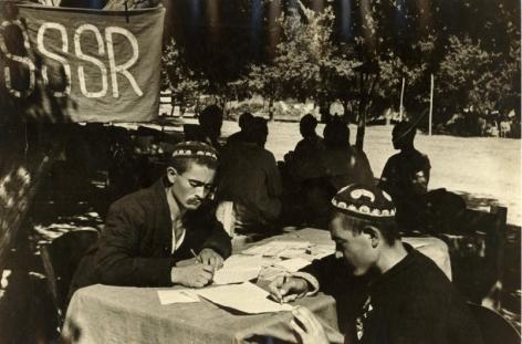 Application for Loans, Tashkent, 1938