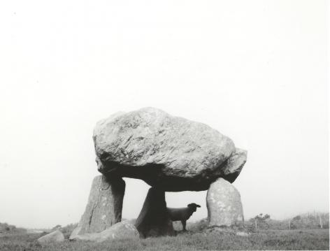 Llech Y Dribedd, Dyfed, Wales, 1996, Gelatin silver print