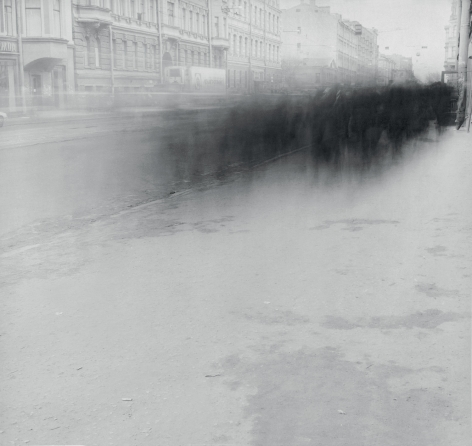 Crowd on Sredniy Prospect (Crowd 3), Saint Petersburg, 1992