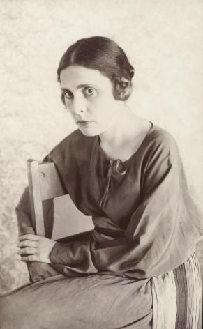 Abram Shterenberg (1894-1978), Lilya Brik seated in chair, 1923