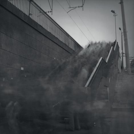 Stairs of Lenin Prospect Railway Station, St. Petersburg, 1994