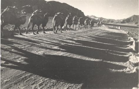 Pamir Road,1934, Vintage gelatin silver print