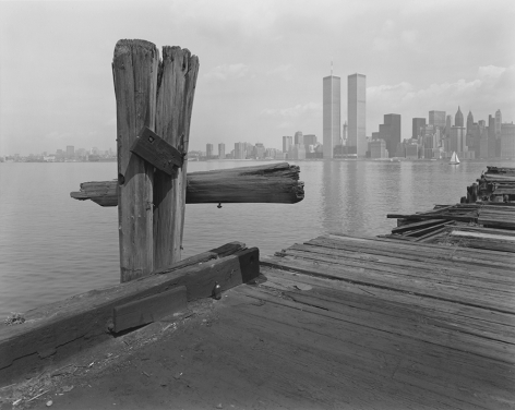 Hudson River Pier, Jersey City, New Jersey, 1979