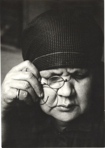 Portrait of Mother, 1924, Gelatin silver print