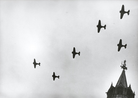 Airplanes, 1930s Gelatin silver print, printed later