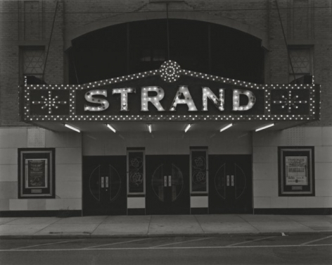 George Tice Strand Theater,Keyport, New Jersey