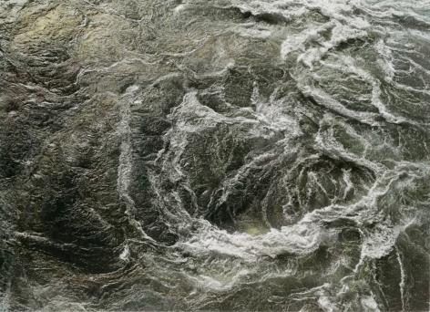 Whirlpool, 1981, painted 2017