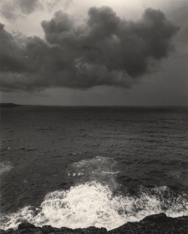 Minorca, Spain (wave crashing), 2014Gelatin silver printImage: 7 3/4 x 6 1/4 in. (19.7 x 15.9 cm)Paper: 10 x 8 in. (25.4 x 20.3 cm)Signed and dated on rectoTitled and dated on verso