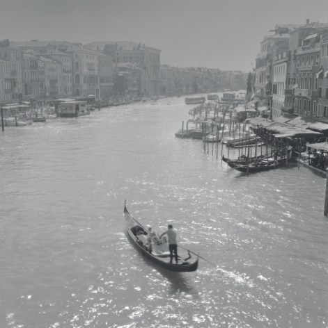 Gondola on the Grand Canal, Venice, 2003