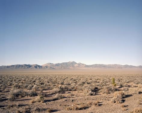 Desert, Extraterrestrial Highway,2018, C-type archival hand print, window mounted