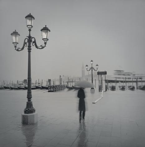 Gondolas, November, Venice, 2002