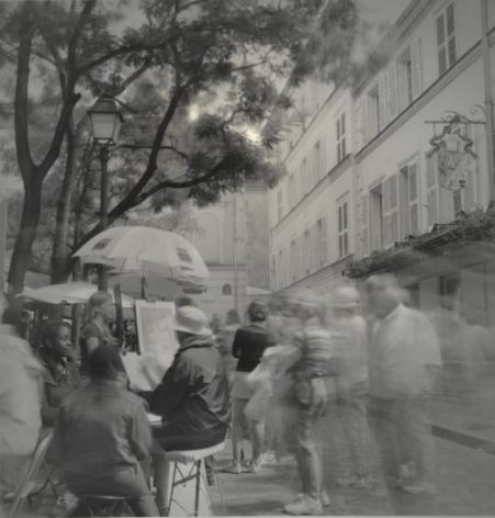 Les Artistes, Montmartre, Paris, July 2001