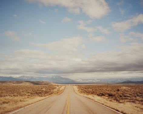 The Highway, Rio Arriba, New Mexico,2015, C-Type Archival Hand Print