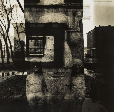 Crucified woman with children,1988
