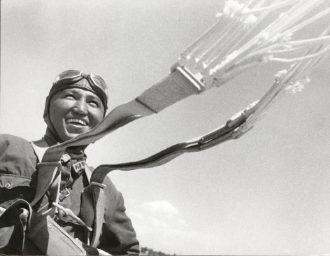 Paratrooper, 1930 Gelatin silver print, printed later