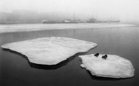 Helsinki, Finland (Ducks on Broken Ice),1973