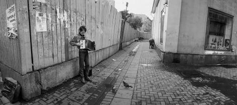 Moscow, Russia (Boy with Accordion),1991, Gelatin silver print