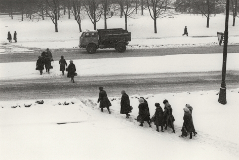Moscow, Russia (Crossing Street),1980, Gelatin silver print