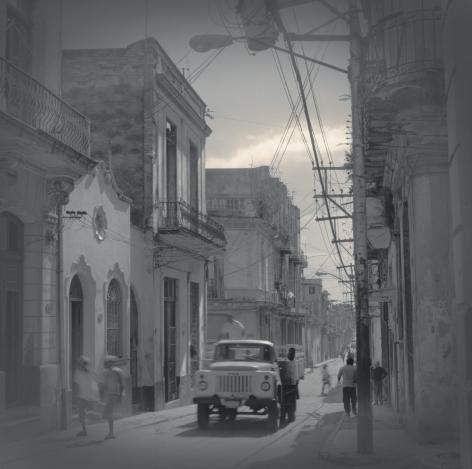 Soviet Truck ZIL, Havana, 2003