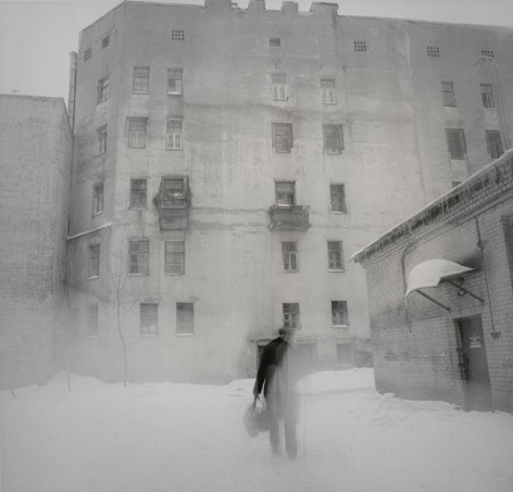 Courtyard Near Apraksin Dvor Market, St. Petersburg, 1997
