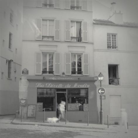 Rue Lepic, Montmartre, Paris, July 2001