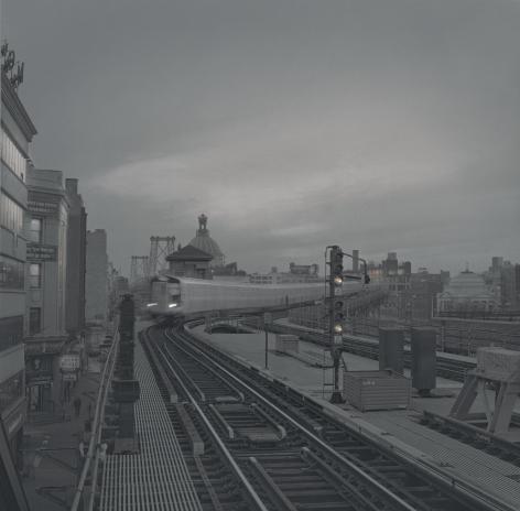 Train, Williamsburg, New York, 2011
