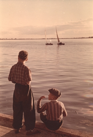 Two Boys, n.d., Chromogenic print