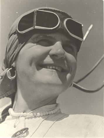 Kolkhoz Woman, 1934, Vintage gelatin silver print