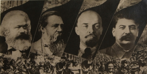 Marx, Engels, Lenin and Stalin, c. 1930