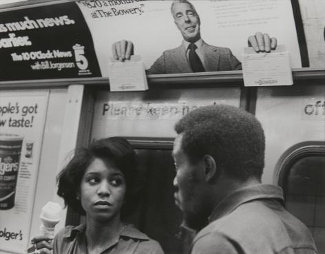 Rudy Burckhardt Joe DiMaggio, New York (subway series), 1975