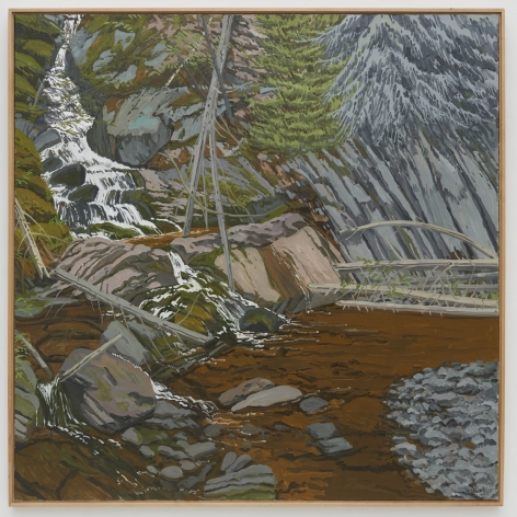 Neil Welliver Bear Hole, 1996