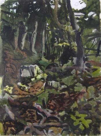 Fairfield Porter, The Trail, 1974