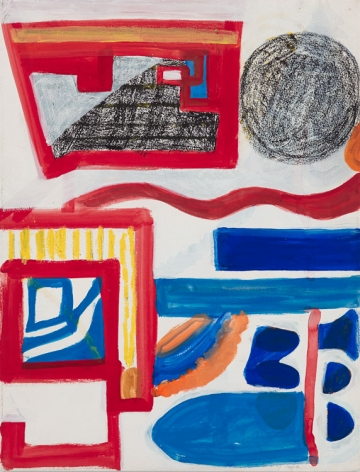 Shirley Jaffe Untitled (#30), 1996